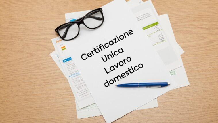 Certificazione Unica (ex CUD)