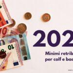 Minimi retributivi 2021